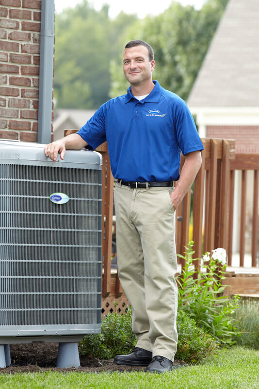 Heating and Cooling Service Technician